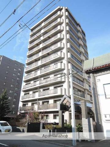 北海道札幌市中央区、中島公園駅徒歩17分の築25年 11階建の賃貸マンション