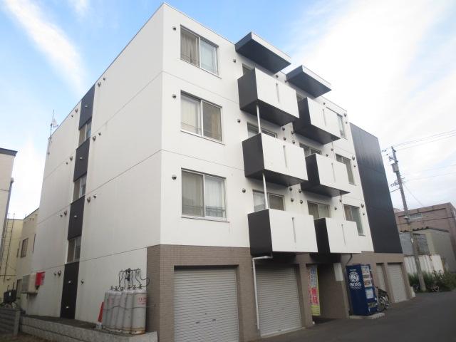 北海道札幌市中央区、苗穂駅徒歩5分の築9年 4階建の賃貸マンション