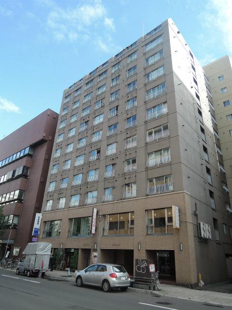 北海道札幌市中央区、大通駅徒歩3分の築35年 13階建の賃貸マンション
