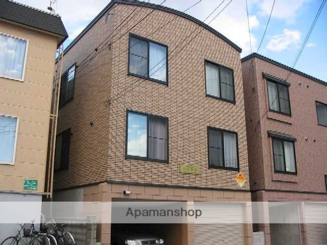 北海道札幌市中央区、桑園駅徒歩16分の築11年 3階建の賃貸アパート