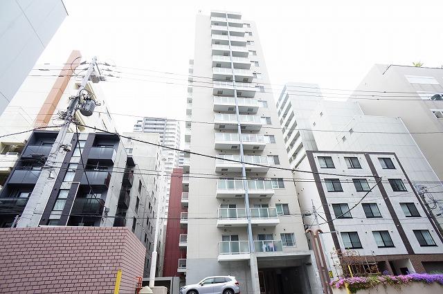 北海道札幌市中央区、札幌駅徒歩5分の築11年 15階建の賃貸マンション