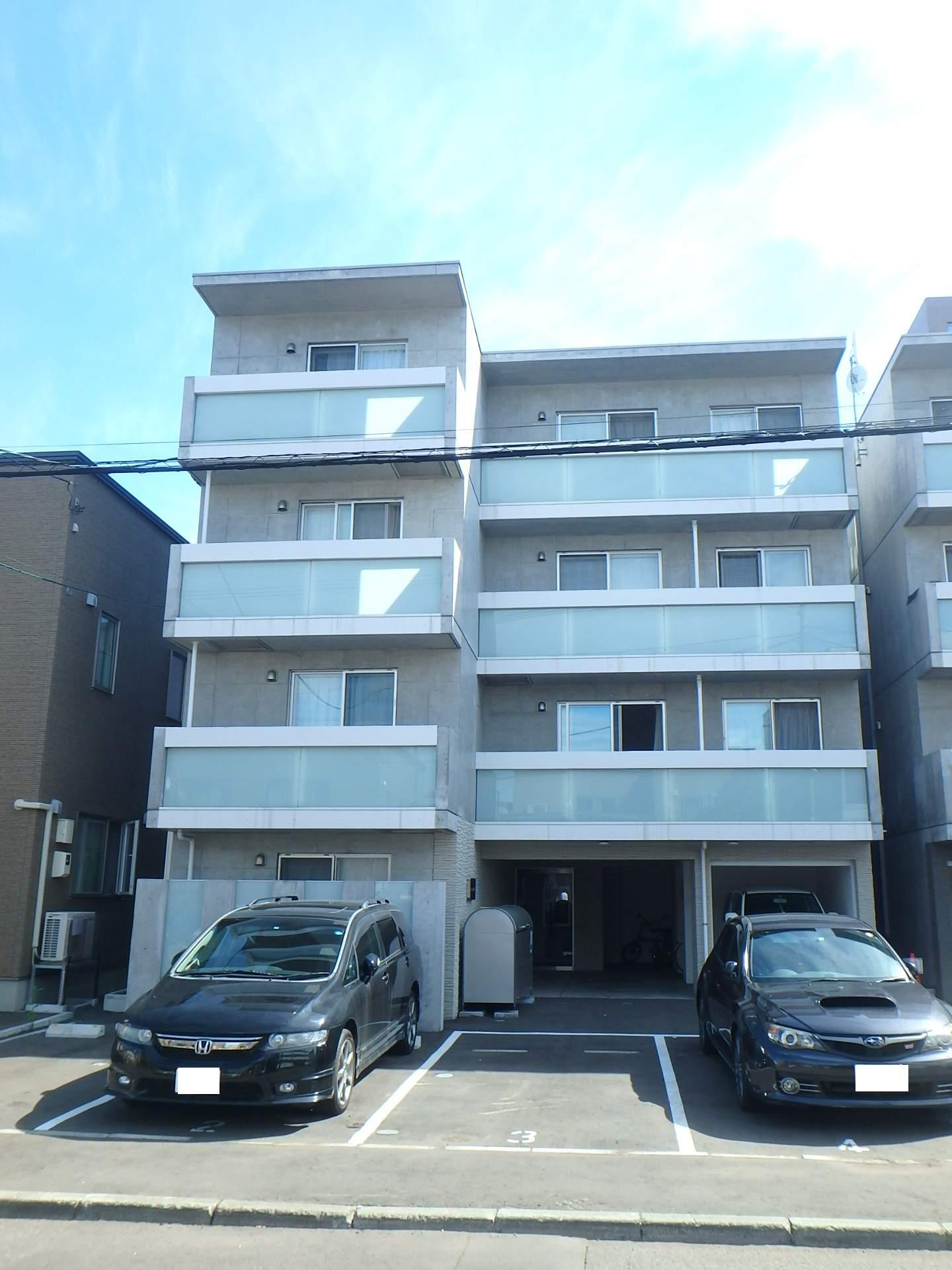 北海道札幌市中央区、西線6条駅徒歩12分の新築 4階建の賃貸マンション