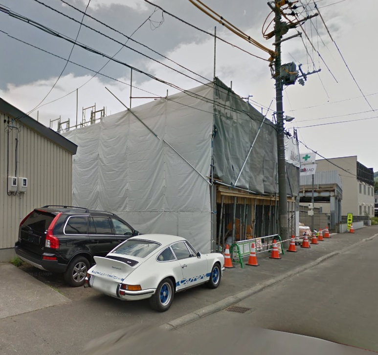 北海道札幌市中央区、琴似駅徒歩14分の新築 4階建の賃貸マンション
