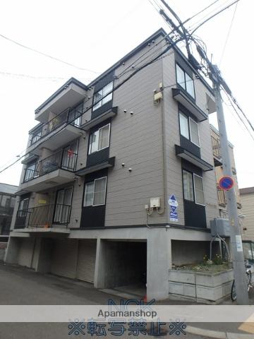 北海道札幌市中央区、静修学園前駅徒歩7分の築16年 3階建の賃貸アパート