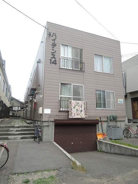北海道札幌市中央区、中島公園駅徒歩16分の築40年 2階建の賃貸アパート