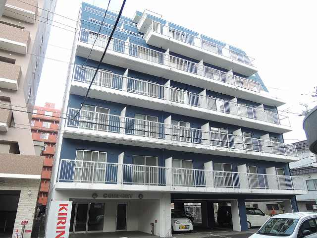 北海道札幌市中央区、西11丁目駅徒歩10分の築29年 7階建の賃貸マンション