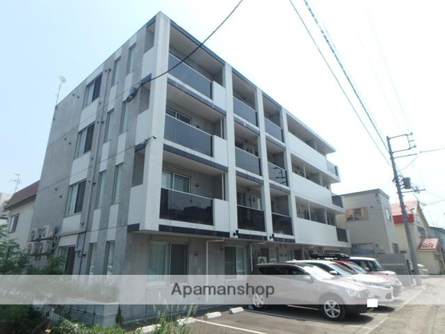 北海道札幌市西区、琴似駅徒歩15分の築1年 4階建の賃貸マンション