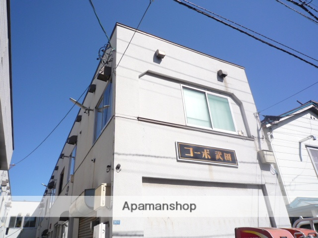 北海道札幌市中央区、西線6条駅徒歩6分の築38年 2階建の賃貸アパート
