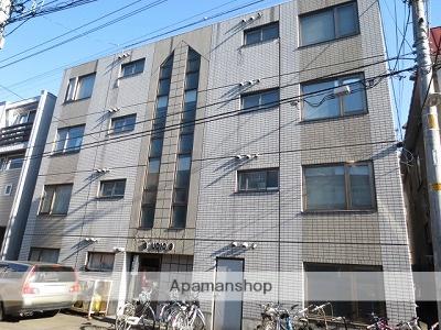 北海道札幌市中央区、中島公園通駅徒歩6分の築28年 4階建の賃貸アパート