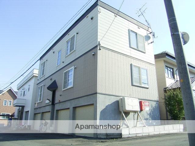 北海道札幌市中央区、桑園駅徒歩10分の築20年 3階建の賃貸アパート