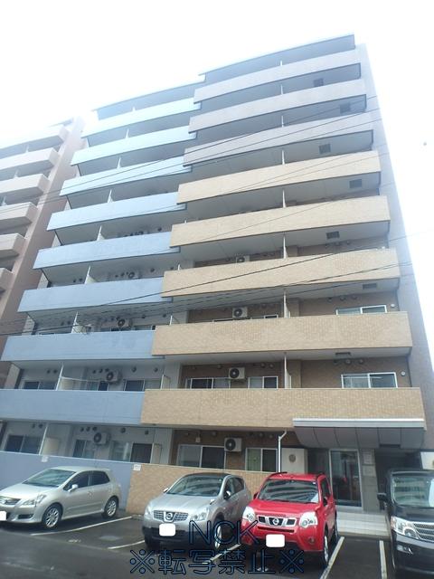 北海道札幌市中央区、中島公園駅徒歩6分の築9年 14階建の賃貸マンション