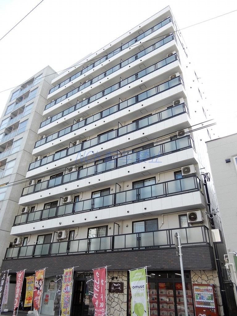北海道札幌市中央区、すすきの駅徒歩5分の築12年 9階建の賃貸マンション