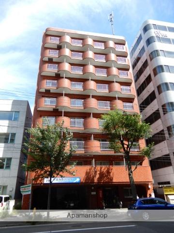 北海道札幌市中央区、バスセンター前駅徒歩5分の築27年 9階建の賃貸マンション