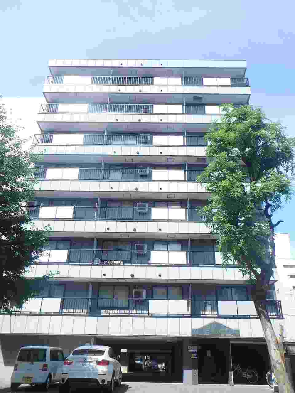 北海道札幌市中央区、すすきの駅徒歩9分の築15年 8階建の賃貸マンション