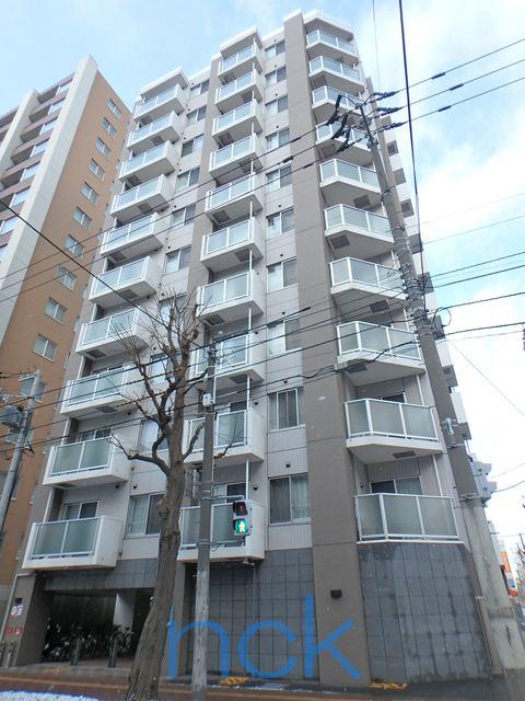 北海道札幌市中央区、札幌駅徒歩8分の築10年 11階建の賃貸マンション