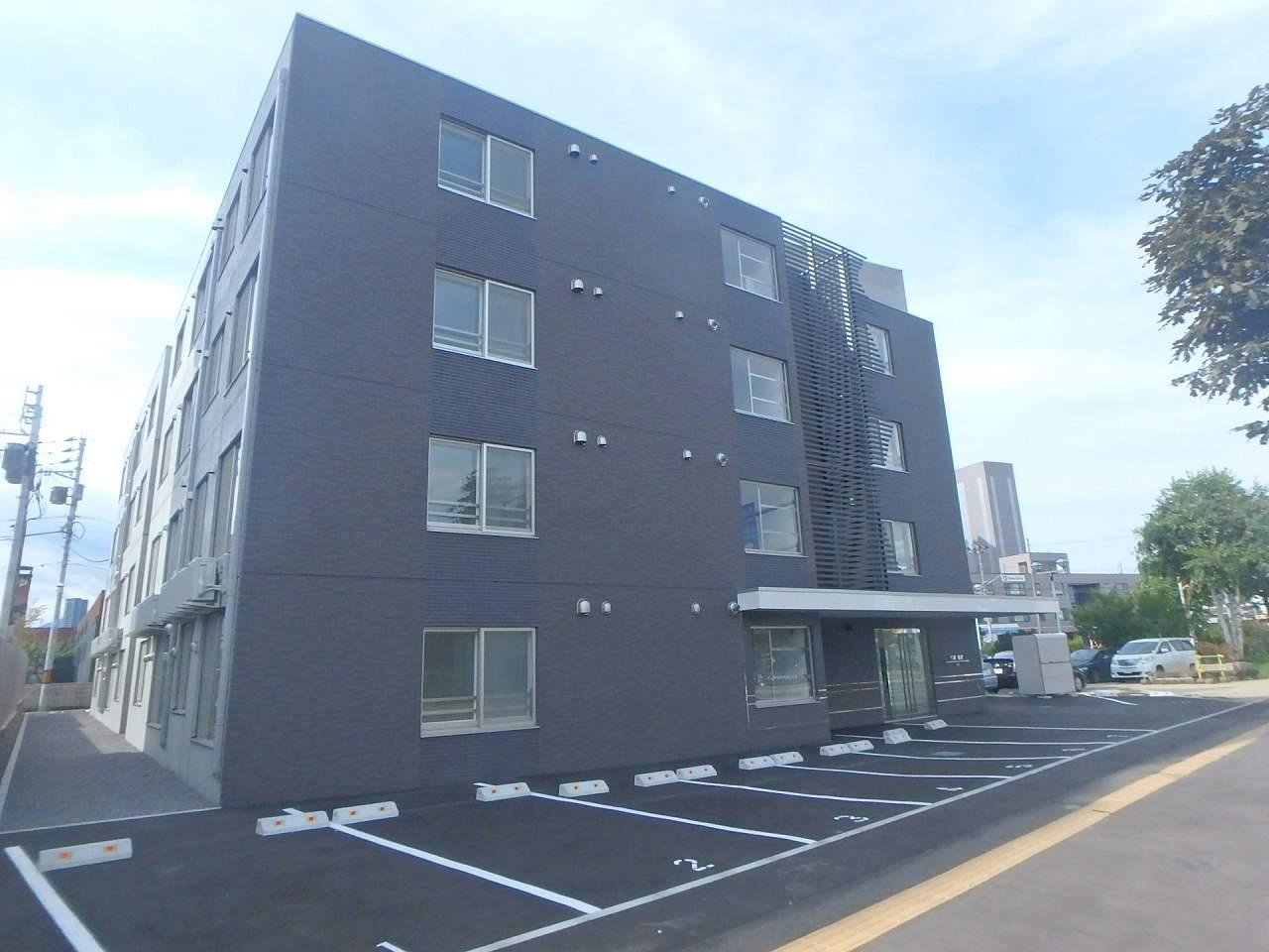 北海道札幌市中央区、苗穂駅徒歩2分の新築 4階建の賃貸マンション