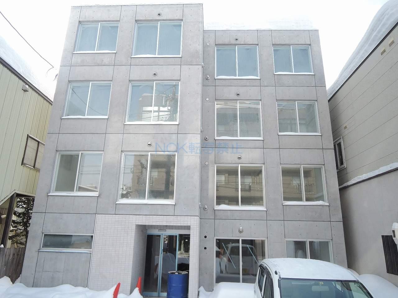 北海道札幌市中央区、中島公園駅徒歩20分の新築 4階建の賃貸マンション