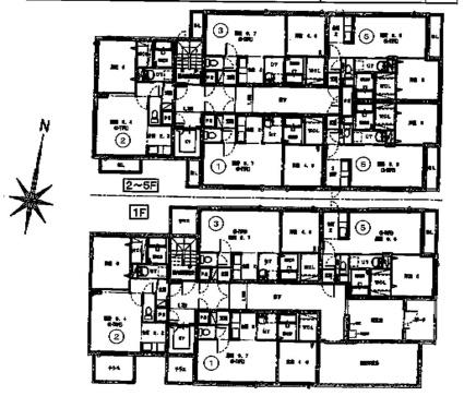 レジーナ南4条[1LDK/37.78m2]の配置図