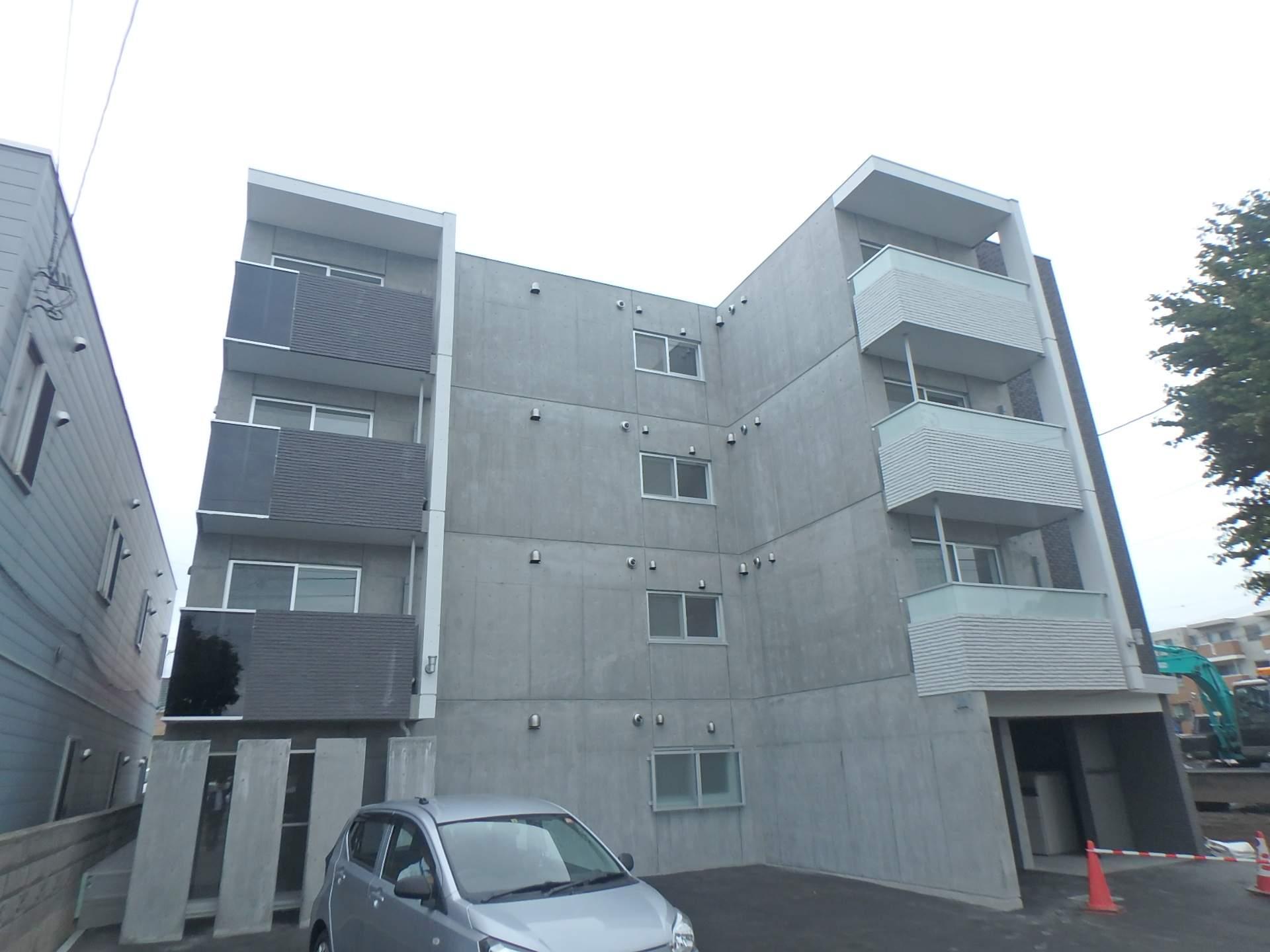 北海道札幌市中央区、桑園駅徒歩11分の新築 4階建の賃貸マンション