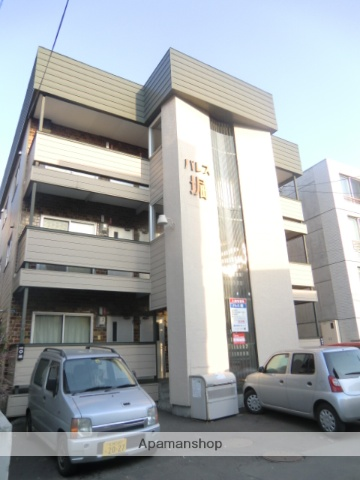 北海道札幌市中央区、中島公園駅徒歩6分の築46年 3階建の賃貸アパート