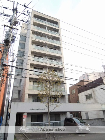 北海道札幌市中央区、幌平橋駅徒歩10分の築27年 9階建の賃貸マンション