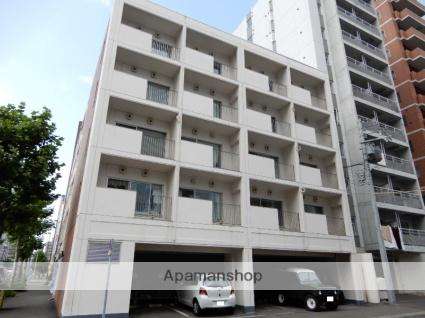 北海道札幌市中央区、桑園駅徒歩14分の築32年 6階建の賃貸マンション