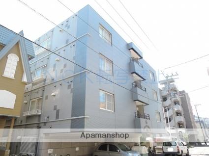 北海道札幌市中央区、西線6条駅徒歩7分の築24年 4階建の賃貸マンション