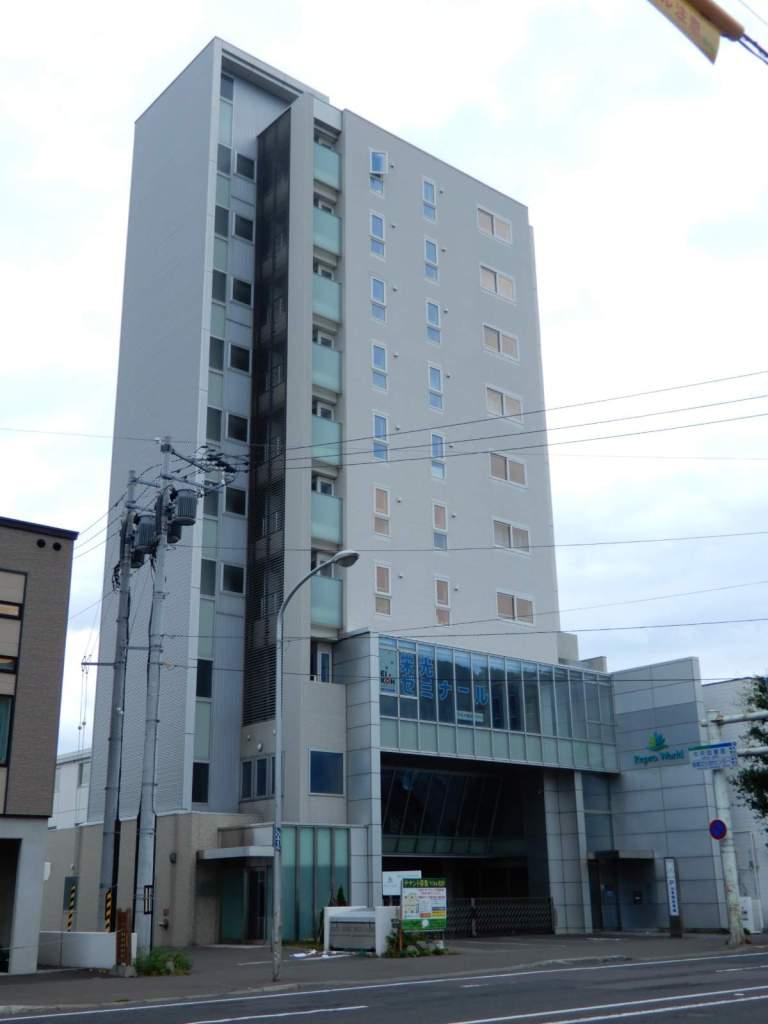 北海道札幌市中央区、中央図書館前駅徒歩8分の築9年 10階建の賃貸マンション