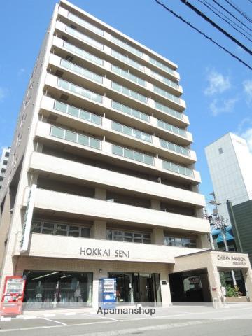 北海道札幌市中央区、札幌駅徒歩9分の築25年 11階建の賃貸マンション