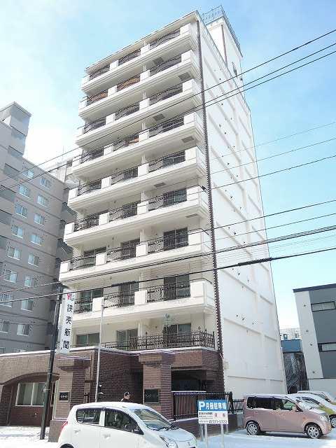 北海道札幌市中央区、幌平橋駅徒歩10分の築31年 10階建の賃貸マンション