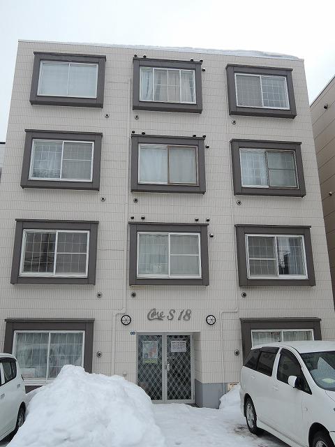 北海道札幌市中央区、西線16条駅徒歩3分の築26年 4階建の賃貸マンション