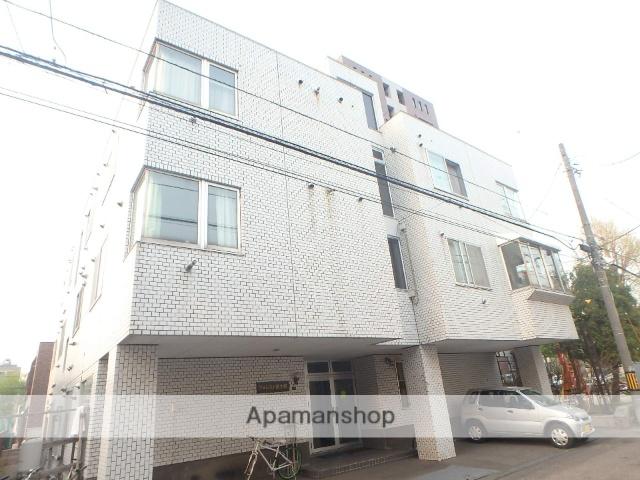 北海道札幌市中央区、西18丁目駅徒歩9分の築33年 3階建の賃貸マンション