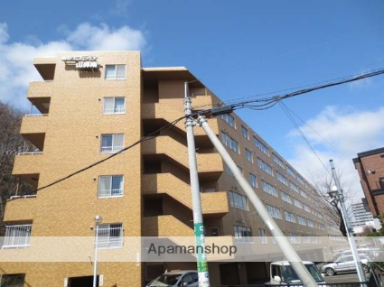 北海道札幌市中央区、電車事業所前駅徒歩13分の築25年 5階建の賃貸マンション