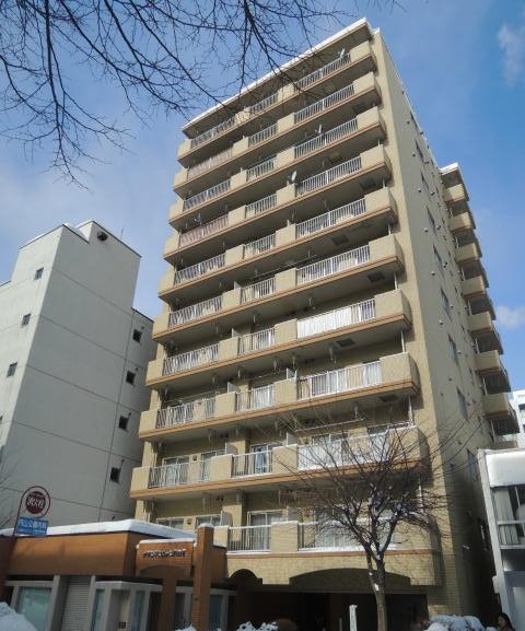 北海道札幌市北区、円山公園駅徒歩5分の築32年 11階建の賃貸マンション