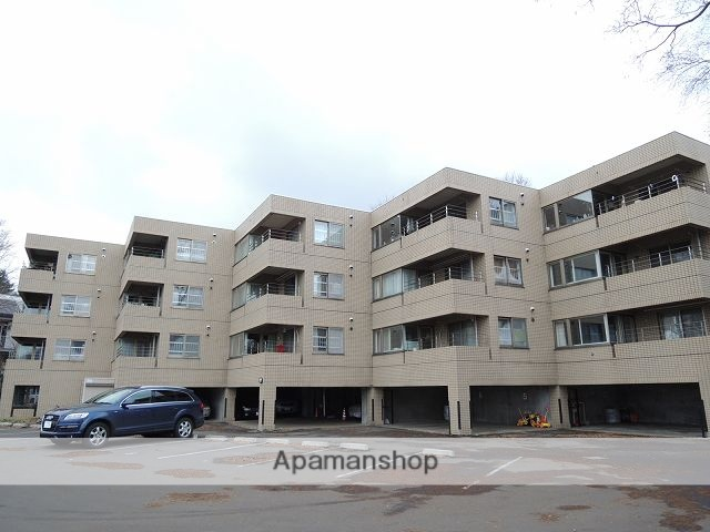 北海道札幌市中央区、西線14条駅徒歩18分の築28年 4階建の賃貸マンション