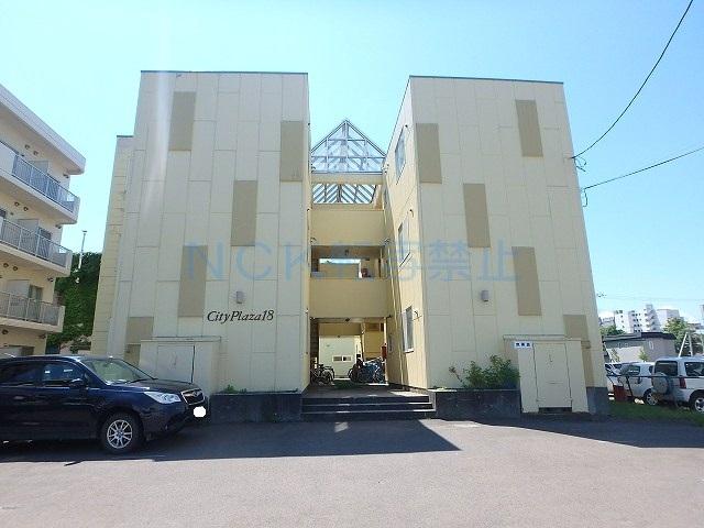 北海道札幌市中央区、桑園駅徒歩10分の築28年 3階建の賃貸マンション