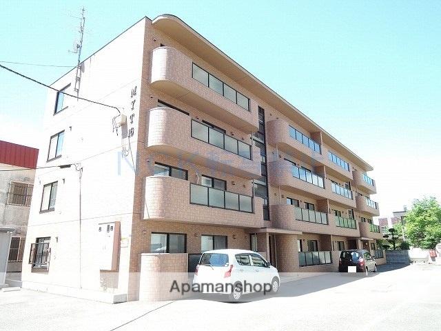 北海道札幌市中央区、幌平橋駅徒歩7分の築14年 4階建の賃貸マンション