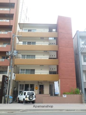 北海道札幌市中央区、中央区役所前駅徒歩8分の築26年 5階建の賃貸マンション