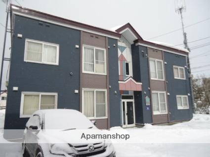 北海道札幌市中央区、桑園駅徒歩15分の築23年 2階建の賃貸アパート