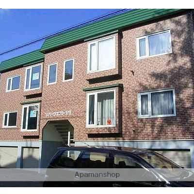 北海道札幌市中央区、幌平橋駅徒歩5分の築28年 2階建の賃貸アパート