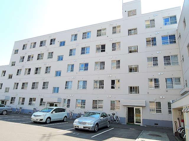 北海道札幌市中央区、西線16条駅徒歩7分の築34年 5階建の賃貸マンション