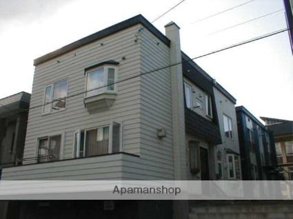 北海道札幌市中央区、西線16条駅徒歩5分の築38年 3階建の賃貸アパート