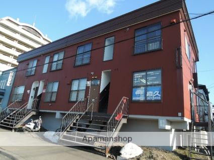 北海道札幌市中央区、幌平橋駅徒歩16分の築34年 2階建の賃貸アパート