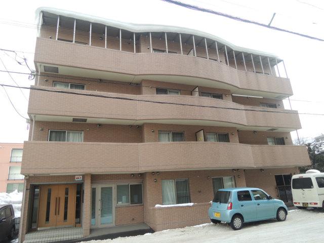 北海道札幌市中央区、二十四軒駅徒歩24分の築13年 4階建の賃貸マンション