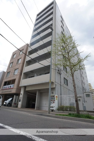 北海道札幌市中央区、バスセンター前駅徒歩5分の築10年 10階建の賃貸マンション