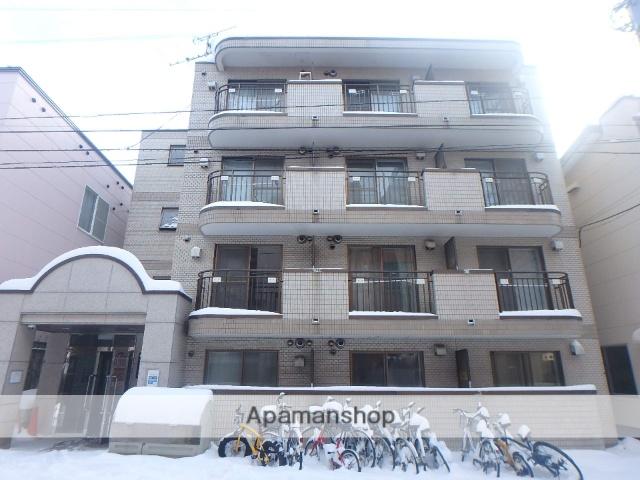 北海道札幌市中央区、西線9条旭山公園通駅徒歩11分の築27年 4階建の賃貸マンション