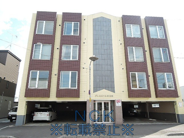 北海道札幌市中央区、幌平橋駅徒歩10分の築22年 4階建の賃貸マンション
