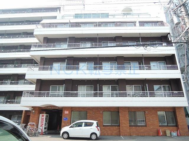 北海道札幌市中央区、札幌駅徒歩6分の築30年 8階建の賃貸マンション