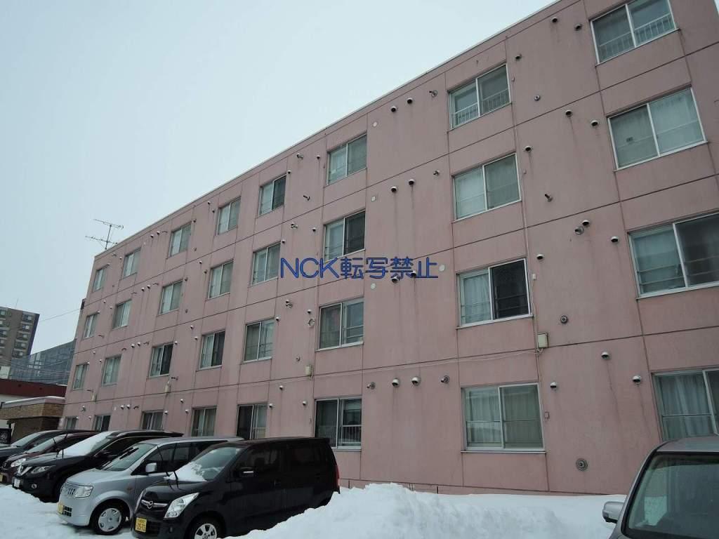 北海道札幌市中央区、バスセンター前駅徒歩3分の築30年 4階建の賃貸マンション