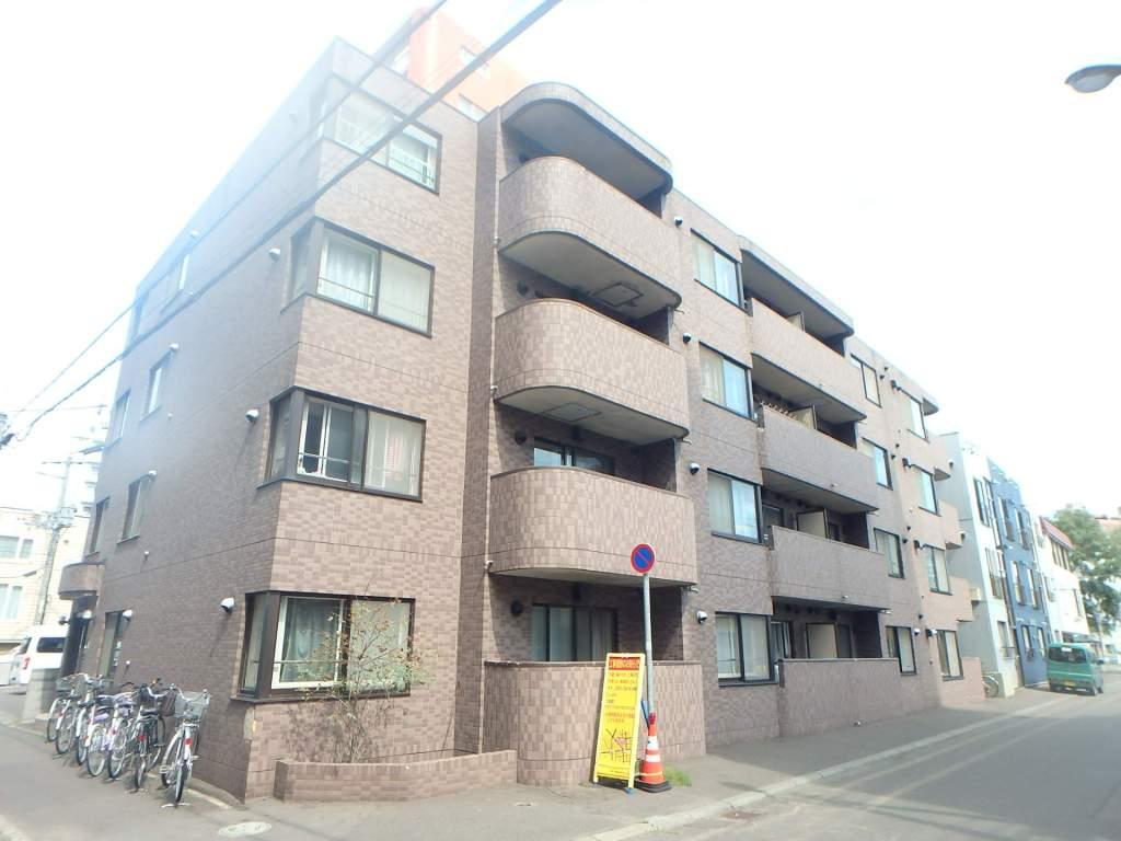 北海道札幌市中央区、二十四軒駅徒歩11分の築25年 4階建の賃貸マンション